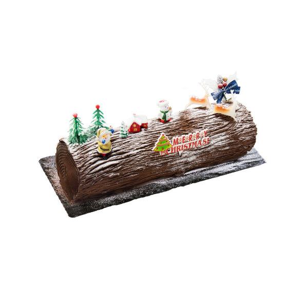 Chocolate Truffle Log