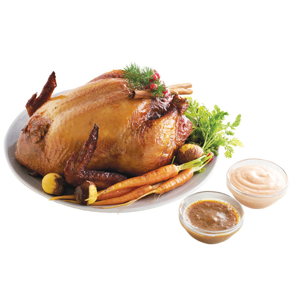Roasted Chicken with Chestnut Stuffing