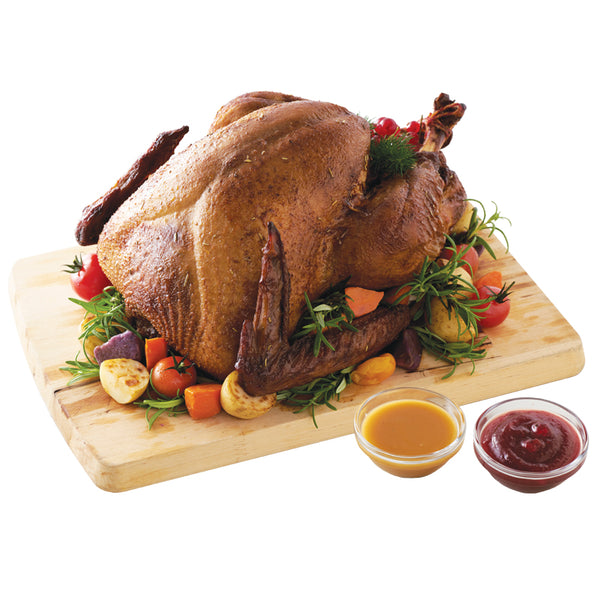 Christmas Roasted Turkey with Chestnut Stuffing