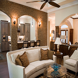 BRICK SLIPS FEATURE WALLS - FRONT ROOMS & LOUNGES, image