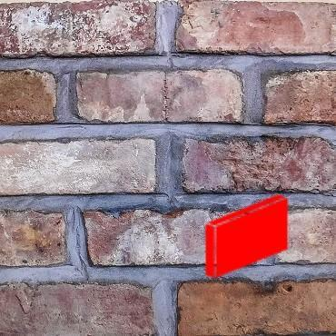 cheshire red blend brick slips for brick slip cladding