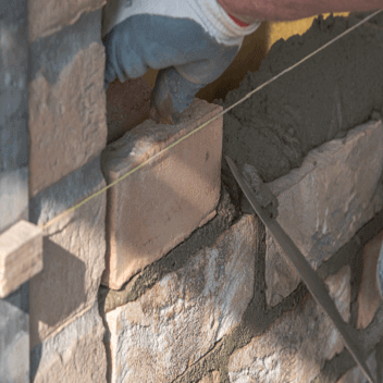 installation of brick slips
