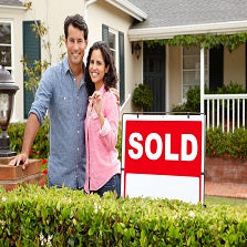 couple who have just sold there house