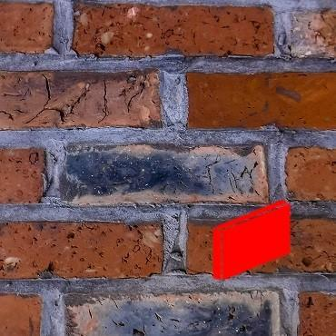 Olde Victorian Mixture Wire Cut Brick Slips image