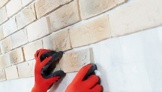 how to install brick slips