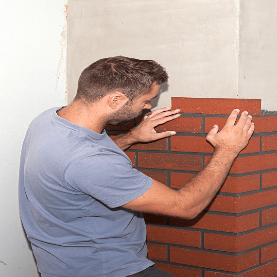 laying brickslips how to guide