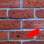 Cheshire Red Blend Wire Cut Brick Slips