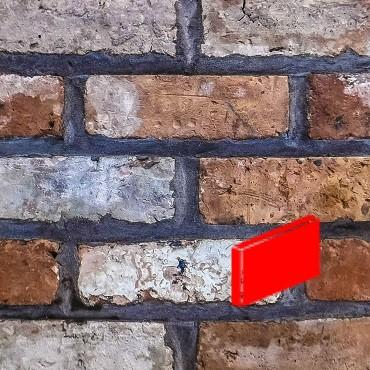 Georgian White Blend Brick Slips