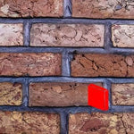 Georgian White Blend Wire Cut Brick Slips