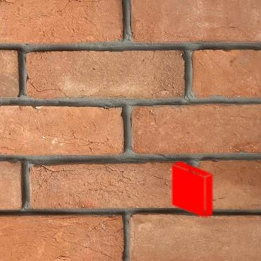 Rustic Red Blend Brick Slips