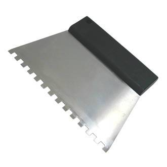 NOTCHED TILE ADHESIVE COMB, IMAGE