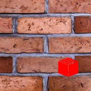 Olde Victorian Red Blend Wire Cut Brick Slips