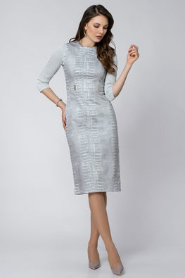 NARROW SECTIONED DRESS