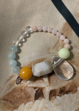 IMPORTANT BRACELET MULTI STONE CLEAR QUARTZ