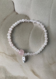 IMPORTANT BRACELET GENTLE ROSE 4MM