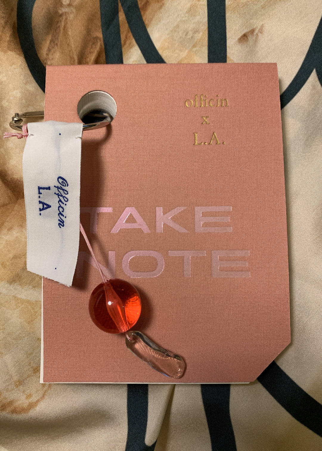 TAKE NOTE Officin x L.A. wearable notepad
