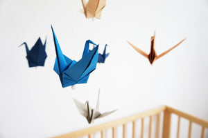 Origami Flapping Paper Crane Mobile! | 200x300
