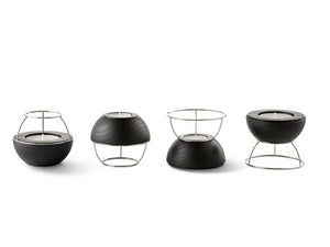 FLAMING RINGS 4in1 Tea Light Holder