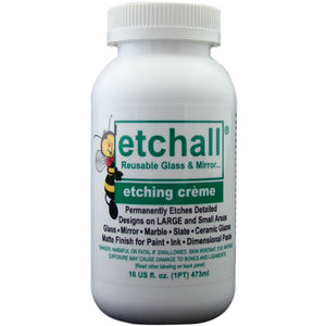 Etchall - Etching Creme (Etching Cream) 16oz