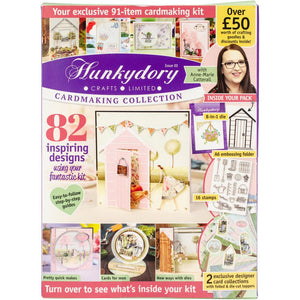 *Pre-Order* Hunkydory Design Collection Box Magazine - Issue 3