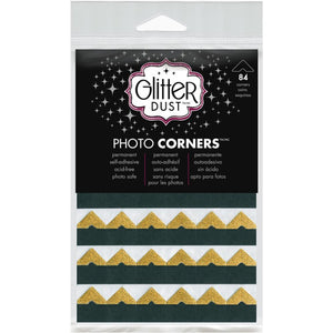 *Pre-Order* Thermoweb Glitter Dust Photo Corners 84/Pkg