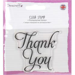 Dovecraft - Clear Stamp, Thank you