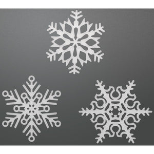 Ultimate Crafts - Its Beginning to look a lot Like Christmas - Snowflake Set (3pc)