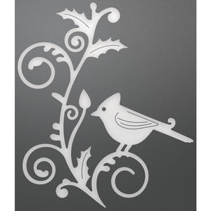 Ultimate Crafts - Its Beginning to look a lot Like Christmas - Cardinal and Flourish