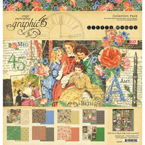 Graphic 45 - Little Women Collection Pack 12x12""
