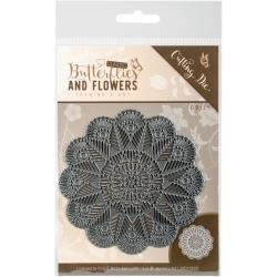 Find It Trading Jeanine's Art Cutting Die - Butterflies and Flowers, Doily