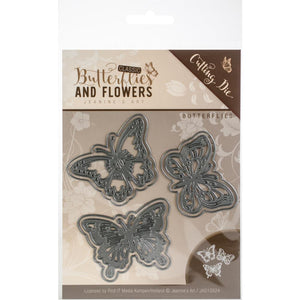 Find It Trading Jeanine's Art Cutting Die - Butterflies and Flowers Butterflies