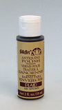 Plaid - Folkart Antiquing Polish - Brown - 2oz