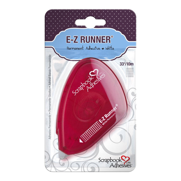Adhesive - E-Z Runner - Permanent Tape (1/2 inch)