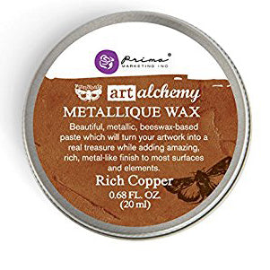 Prima - Art Alchemy Metallique Wax (20ml) - Rich Copper