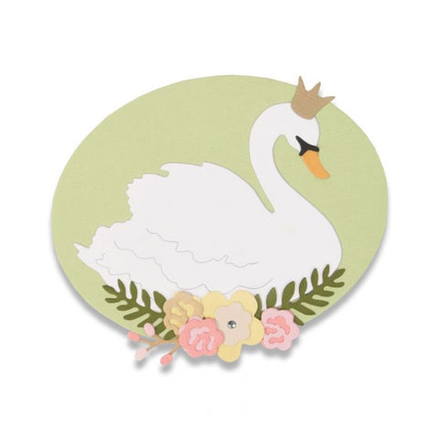 Sizzix Thinlits Die Set - Royal Swan by Debi Potter