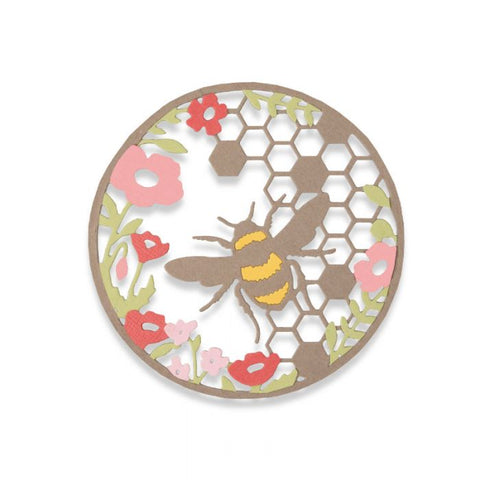Sizzix Thinlits Die Set - Honey Bee