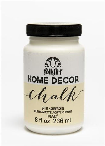 Plaid / Folkart - Home Decor Chalk Ultra - Matte Paint (8oz) - Sheepskin