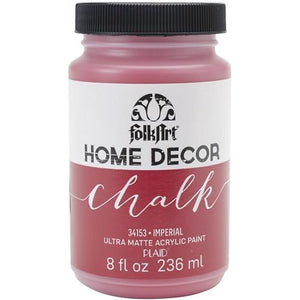 Plaid / Folkart - Home Decor Chalk Ultra - Matte Paint (8oz) - Imperial