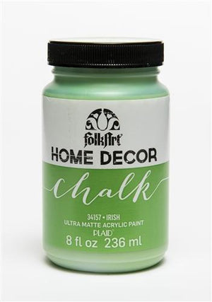 Plaid / Folkart - Home Decor Chalk Ultra - Matte Paint (8oz) - Irish