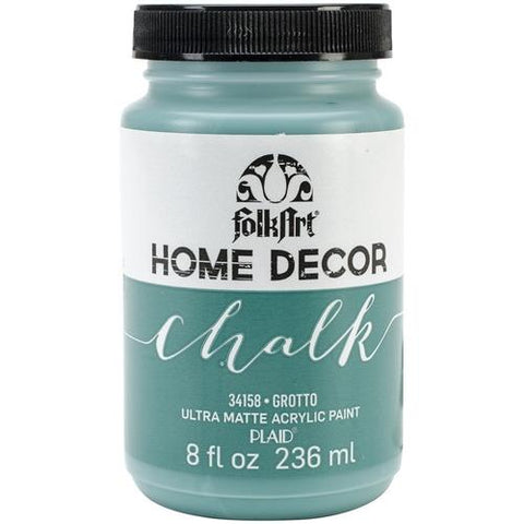 Plaid / Folkart - Home Decor Chalk Ultra-Matte Paint (8oz) - Grotto