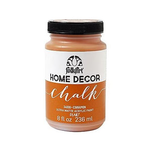 Plaid / Folkart - Home Decor Chalk Ultra - Matte Paint (8oz) - Cinnamon