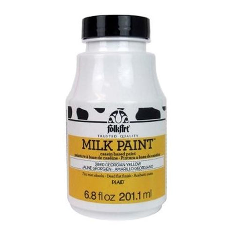 Plaid / Folkart - Milk Paint (6.8oz) - Georgian Yellow