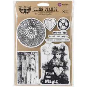 "Finnabair Cling Stamp 6x7.5"" - Trust the Magic"