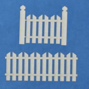 A2Z Scraplets - Shapes - Fence 5 - Set of 2