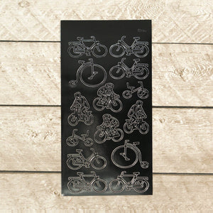 Sticker - AD - Bikes - black