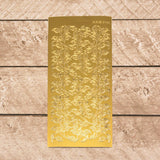 Sticker - AD - Leaves 2 - Gold
