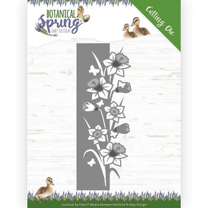 Amy Design - Botanical Spring, Daffodil Border
