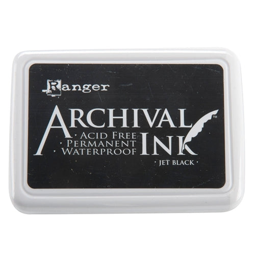Ranger Archival Ink - Jet Black - Small