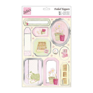 A4 Die Cut Foiled Toppers - Sowing seeds - Anita's