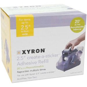 Xyron - 250 Refill Cartridge - Repositionable (2.5 inch x 20)